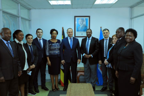 AZERBAIJAN TEAM VISIT MINISTRY OF FOREIGN AFFAIRS DURING THEIR ACQUAINTANCE WITH THE STATUS AND READINESS OF UGANDAN PUBLIC SERVICE OPERATIONALISATION OF ONE STOP SHOP CENTERS ON 18TH FEB 2019
