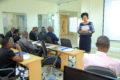 Permanent Secretary Catherine Bitarakwate Musingwiire opened the Training at UBRA recently