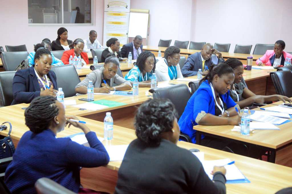 Ministry Organized Secretarial Cadre Forum Ends At Civil