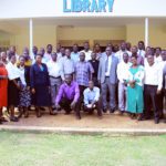Group photo of Teachers at St. Katherine secondary school after the Refresher training on 19th August 2019