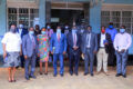 Group photo of Hon. Minister of state David Krubanga together with the Tecnical staff amd Meteorelogical Authority on 1st O ctober 2020.